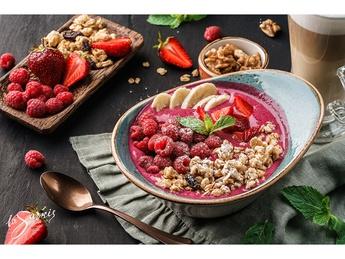 Acai bowl with yogurt