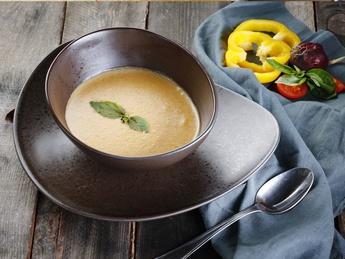 Coconut corn cream soup