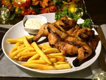 Hamburg-style grilled chicken