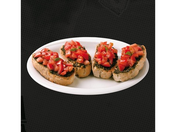 Bruschette con pomodoro