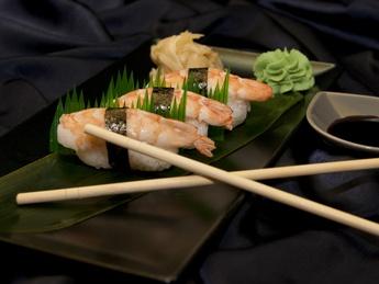 Nigiri with Shrimp
