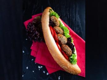 Baghet cu falafel