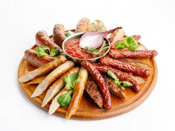 Sausage plateau