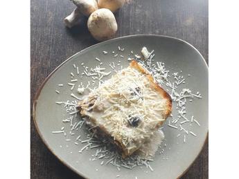 Lasagna with  mushrooms