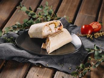 Brasil Style chicken wrap