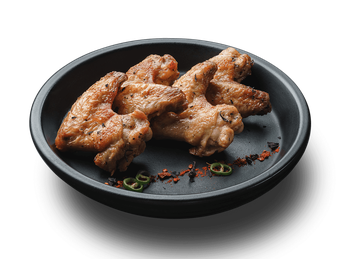 Chicken wings with tomato sauce (1 serving)