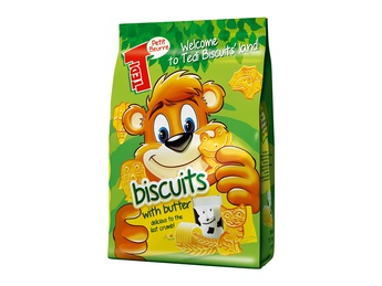 TEDI Biscuits with butter 100g