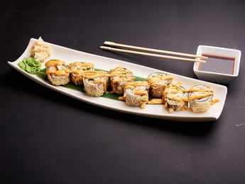 Roll Salmon Tempura