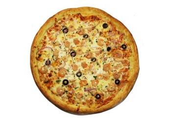 Pizza with Shrimp - 25 cm