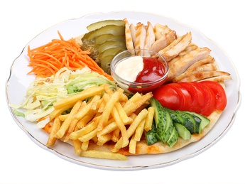 Shaorma platter