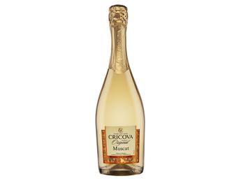 Sparkling wine Cricova Muscat