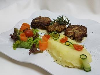 Pârjoale din carne de curcan
